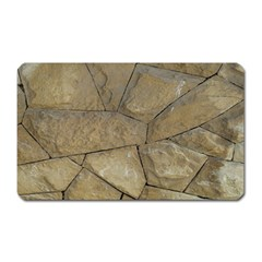 Brick Wall Stone Kennedy Magnet (rectangular)
