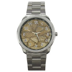 Brick Wall Stone Kennedy Sport Metal Watch