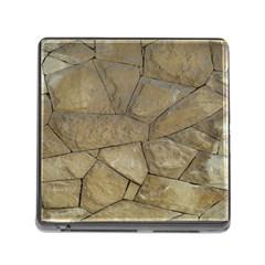 Brick Wall Stone Kennedy Memory Card Reader (square)
