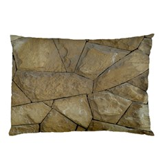 Brick Wall Stone Kennedy Pillow Case (two Sides)