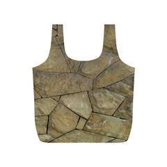 Brick Wall Stone Kennedy Full Print Recycle Bags (s)