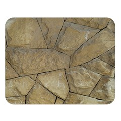 Brick Wall Stone Kennedy Double Sided Flano Blanket (large)