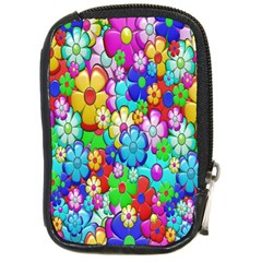 Flowers Ornament Decoration Compact Camera Cases