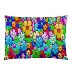 Flowers Ornament Decoration Pillow Case (two Sides)