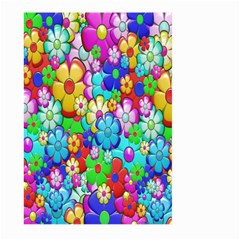 Flowers Ornament Decoration Large Garden Flag (two Sides)