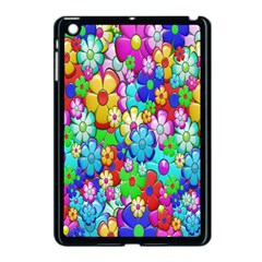 Flowers Ornament Decoration Apple Ipad Mini Case (black)