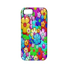 Flowers Ornament Decoration Apple Iphone 5 Classic Hardshell Case (pc+silicone)