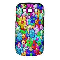 Flowers Ornament Decoration Samsung Galaxy S Iii Classic Hardshell Case (pc+silicone)