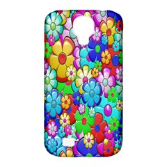 Flowers Ornament Decoration Samsung Galaxy S4 Classic Hardshell Case (pc+silicone)