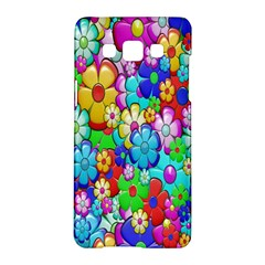 Flowers Ornament Decoration Samsung Galaxy A5 Hardshell Case