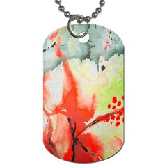 Fabric Texture Softness Textile Dog Tag (two Sides)