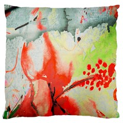 Fabric Texture Softness Textile Large Cushion Case (two Sides)