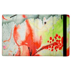 Fabric Texture Softness Textile Apple Ipad 2 Flip Case
