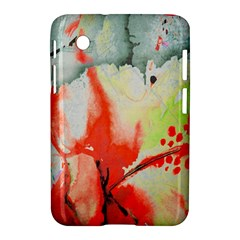 Fabric Texture Softness Textile Samsung Galaxy Tab 2 (7 ) P3100 Hardshell Case