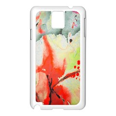 Fabric Texture Softness Textile Samsung Galaxy Note 3 N9005 Case (white)