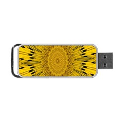 Pattern Petals Pipes Plants Portable Usb Flash (one Side)