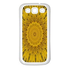 Pattern Petals Pipes Plants Samsung Galaxy S3 Back Case (white)