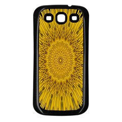 Pattern Petals Pipes Plants Samsung Galaxy S3 Back Case (black)