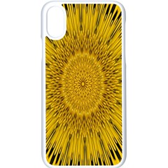 Pattern Petals Pipes Plants Apple Iphone X Seamless Case (white)