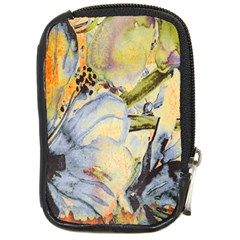 Flower Texture Pattern Fabric Compact Camera Cases