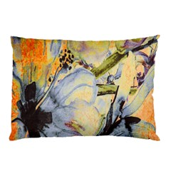 Flower Texture Pattern Fabric Pillow Case (two Sides)