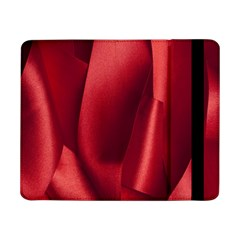Red Fabric Textile Macro Detail Samsung Galaxy Tab Pro 8 4  Flip Case