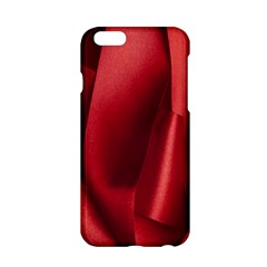 Red Fabric Textile Macro Detail Apple Iphone 6/6s Hardshell Case
