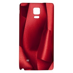 Red Fabric Textile Macro Detail Galaxy Note 4 Back Case