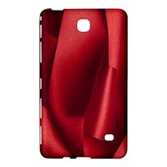 Red Fabric Textile Macro Detail Samsung Galaxy Tab 4 (7 ) Hardshell Case