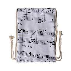 Abuse Background Monochrome My Bits Drawstring Bag (small)