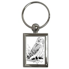 Animal Bird Forest Nature Owl Key Chains (rectangle)