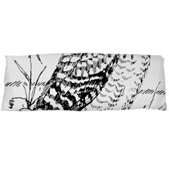 Animal Bird Forest Nature Owl Body Pillow Case (dakimakura)