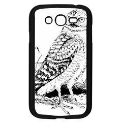 Animal Bird Forest Nature Owl Samsung Galaxy Grand Duos I9082 Case (black)