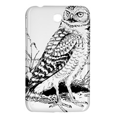 Animal Bird Forest Nature Owl Samsung Galaxy Tab 3 (7 ) P3200 Hardshell Case