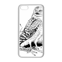 Animal Bird Forest Nature Owl Apple Iphone 5c Seamless Case (white)