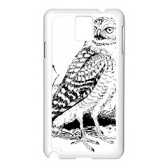 Animal Bird Forest Nature Owl Samsung Galaxy Note 3 N9005 Case (white)