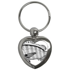 Animal Fish Ocean Sea Key Chains (heart)