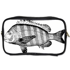 Animal Fish Ocean Sea Toiletries Bags 2 Side
