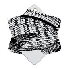 Animal Fish Ocean Sea Ornament (snowflake)
