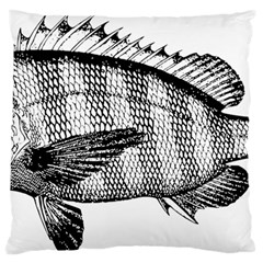 Animal Fish Ocean Sea Standard Flano Cushion Case (one Side)