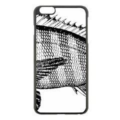 Animal Fish Ocean Sea Apple Iphone 6 Plus/6s Plus Black Enamel Case
