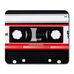 Compact Cassette Musicassette Mc Large Mousepads