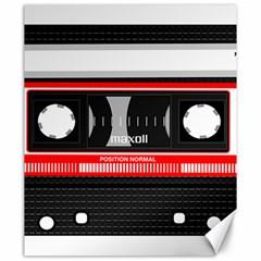 Compact Cassette Musicassette Mc Canvas 20  X 24