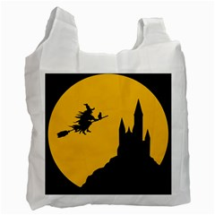 Castle Cat Evil Female Fictional Recycle Bag (one Side)