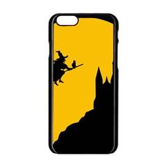 Castle Cat Evil Female Fictional Apple Iphone 6/6s Black Enamel Case