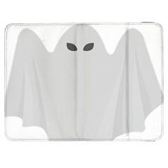 Ghost Halloween Spooky Horror Fear Samsung Galaxy Tab 7  P1000 Flip Case