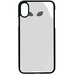 Ghost Halloween Spooky Horror Fear Apple Iphone X Seamless Case (black)