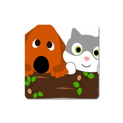Baby Decoration Cat Dog Stuff Square Magnet