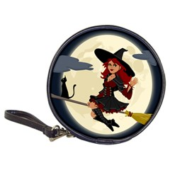 Witch Witchcraft Broomstick Broom Classic 20 Cd Wallets