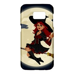 Witch Witchcraft Broomstick Broom Samsung Galaxy S7 Hardshell Case